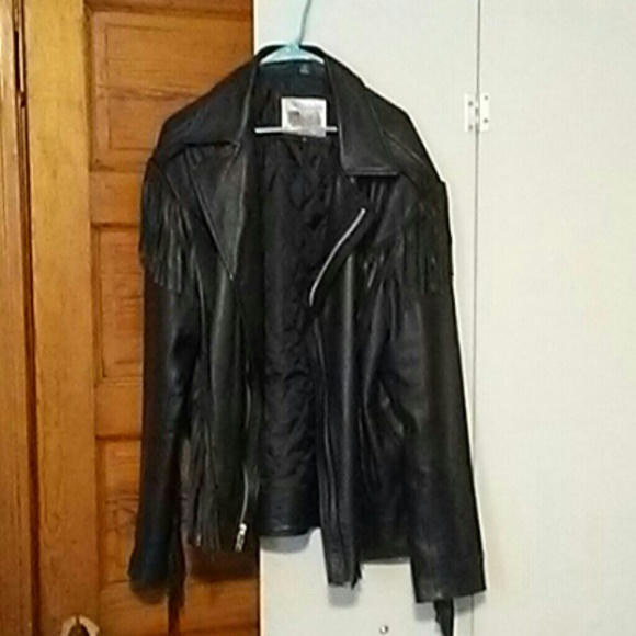 excelled Jackets & Blazers - Mens leather bikers jacket